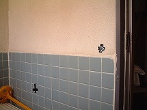 浴室改修前(手すり取付)